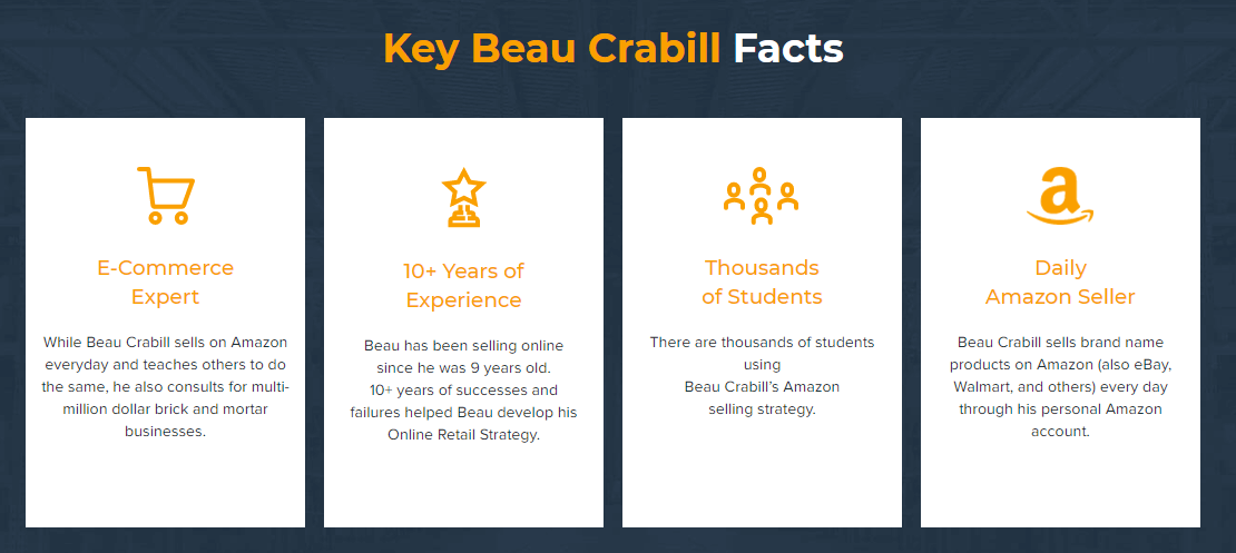Key Beau Crabill facts
