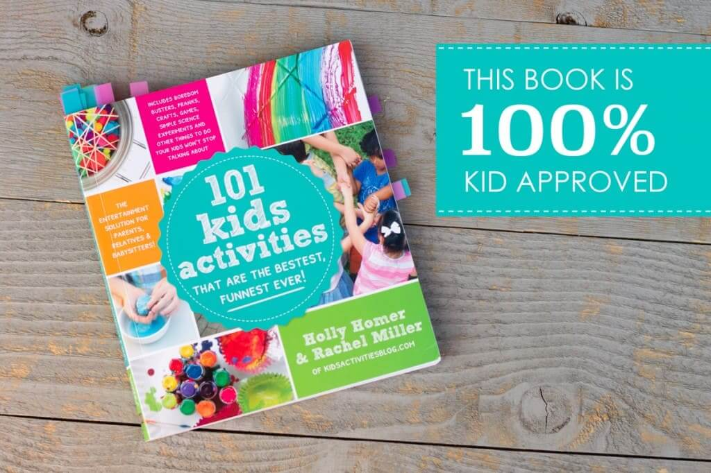 """The cover of the book """"101 kids activities"""""""