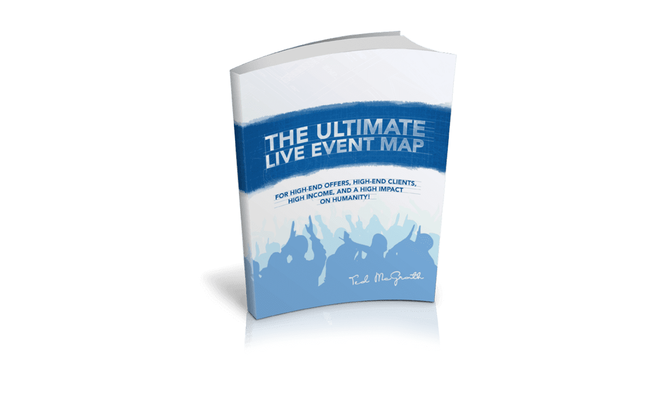 "The cover of the book ""Ultimate Live Event Map"""