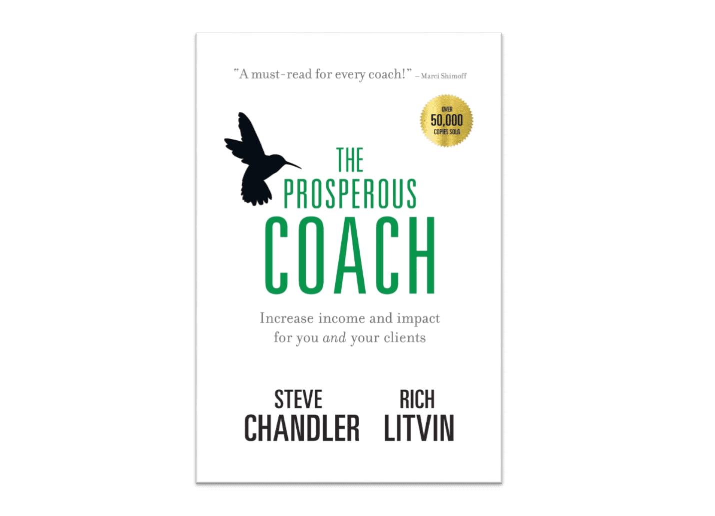 """The cover of the book """"The Prosperous Coach"""""""