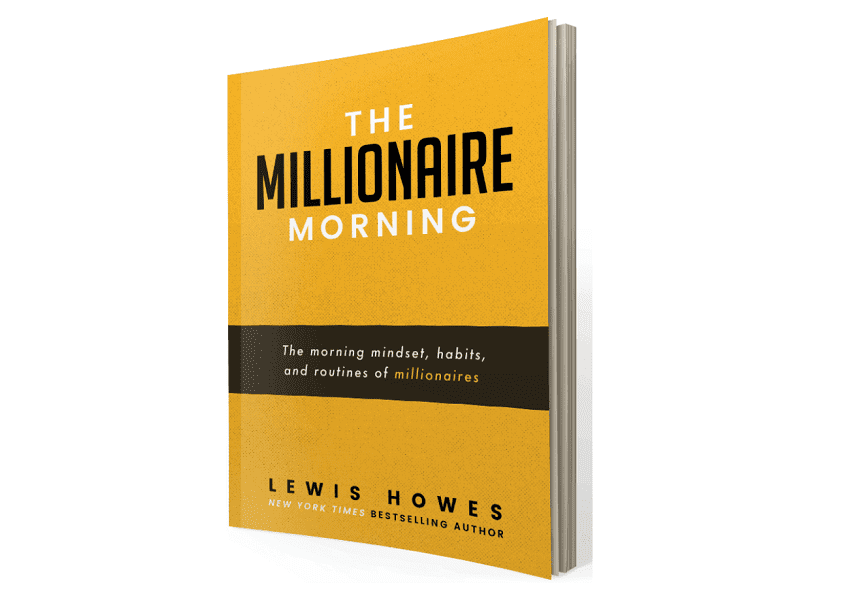 """The cover of the book """"The Millionaire Morning"""""""