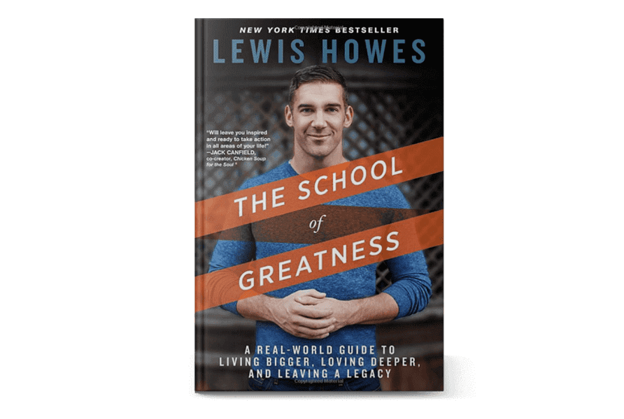 "The cover of the book ""The School of Greatness"""