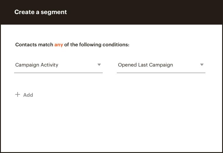Create a segment