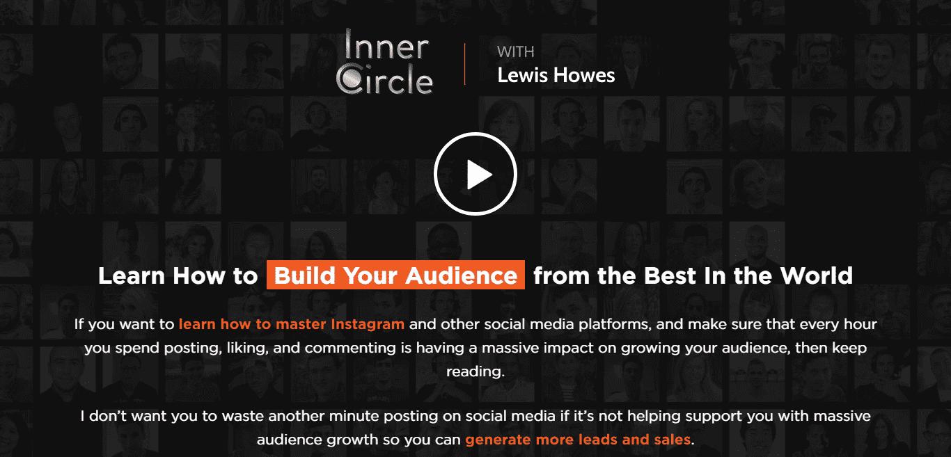 Lewis Howes' membership site, The Inner Circle