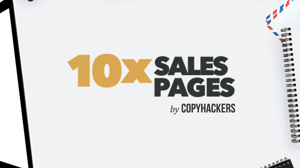 Copyhackers 10x Sales Pages course