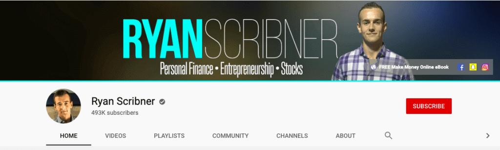 Ryan Scribner's youtube channel