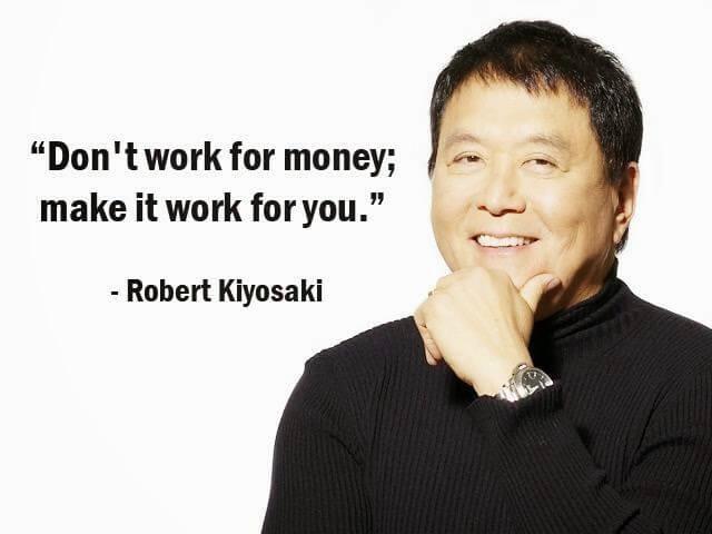 Robert Kiyosaki's quote