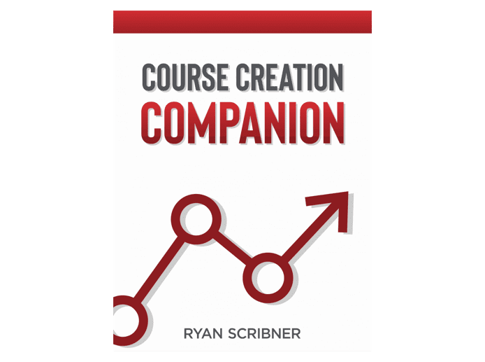 """The cover of the book """"Course creation companion"""""""
