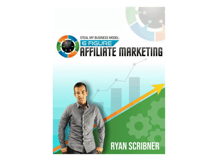 """The cover of the book """"affiliate marketing"""""""