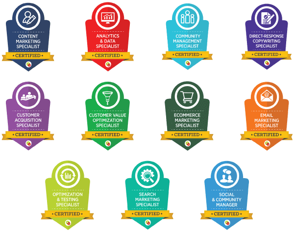 DigitalMarketer certifications and courses
