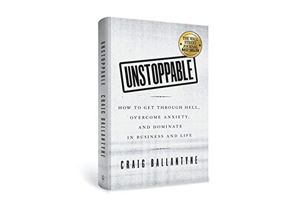 The cover of the book : Unstoppable