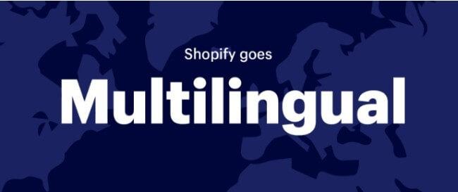 Shopify multilingual sites