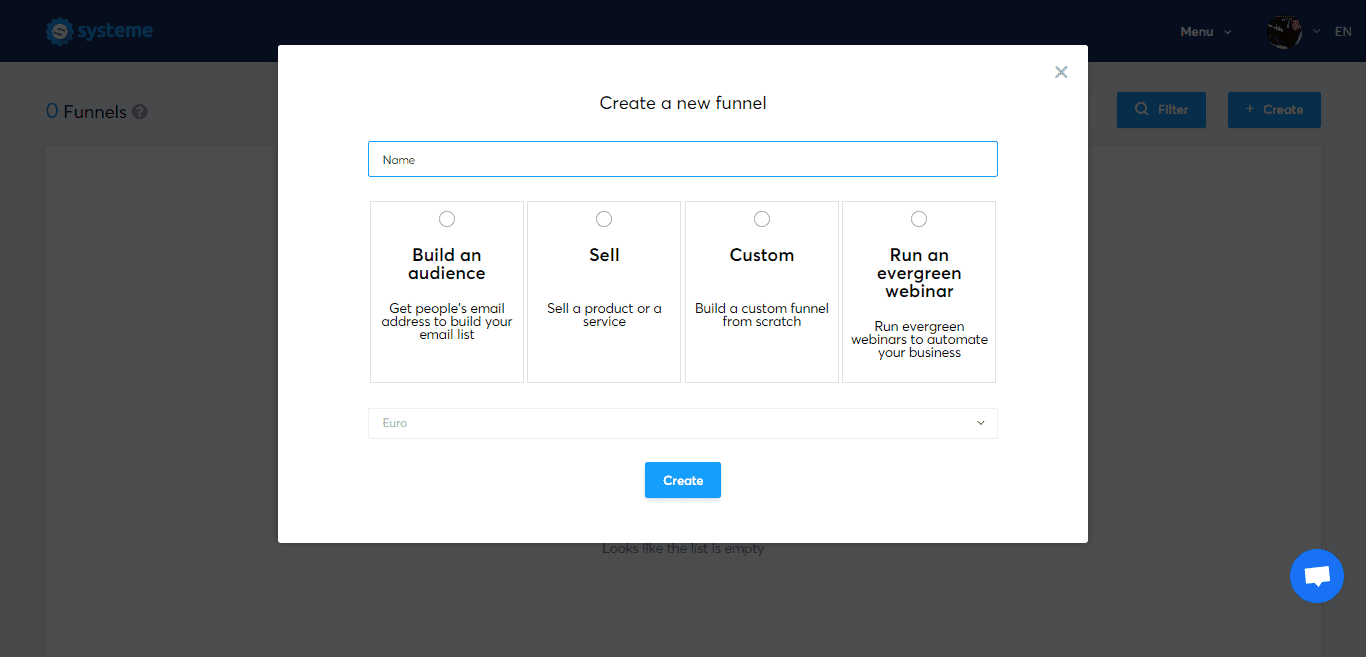 Systeme.io's funnels