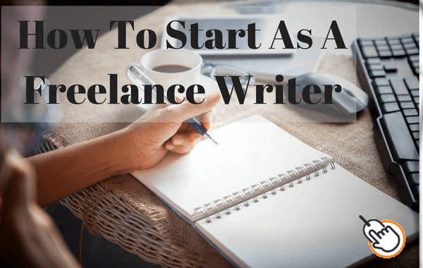 How to start as a freelance writer