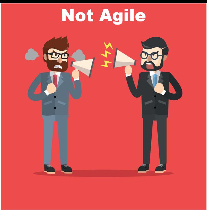not agile