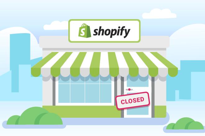 Cancel Shopify
