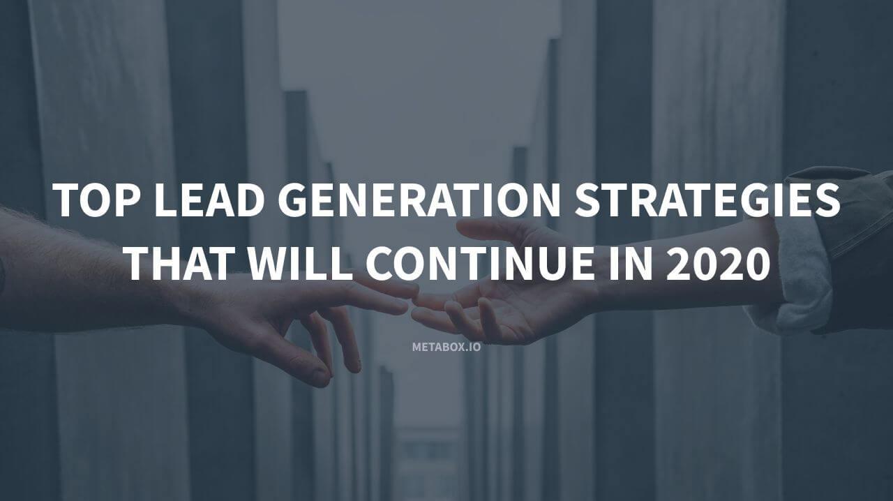 Top Lead Generation Strategies