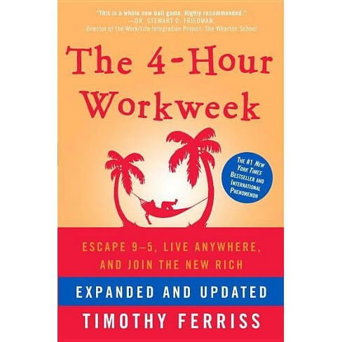 Book: The 4 Hour Work Week by Tim Ferriss