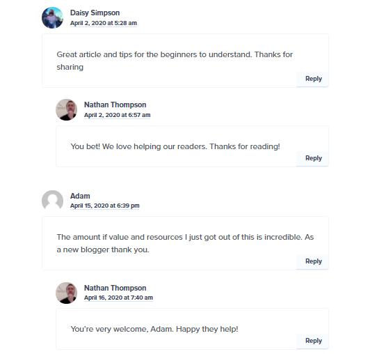 commenting platform