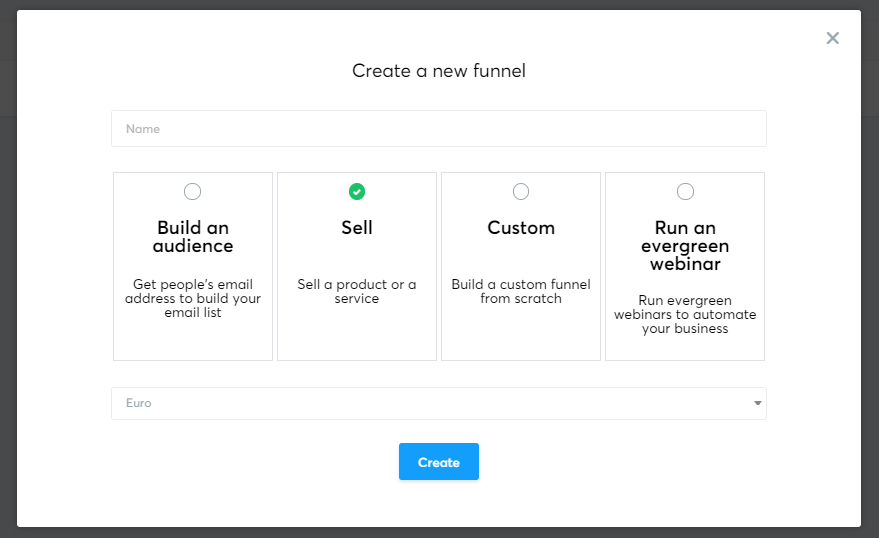 Creating Your Funnel with Systeme.io