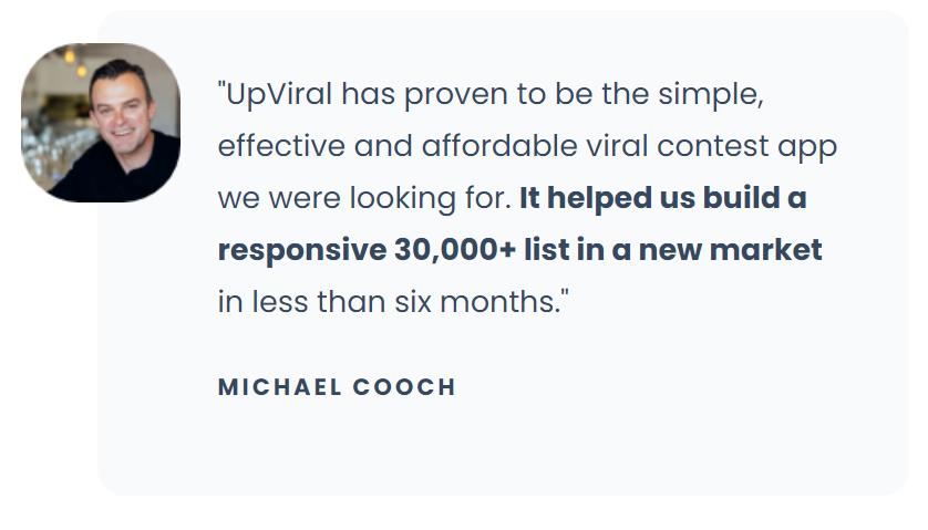 un client d'Upviral