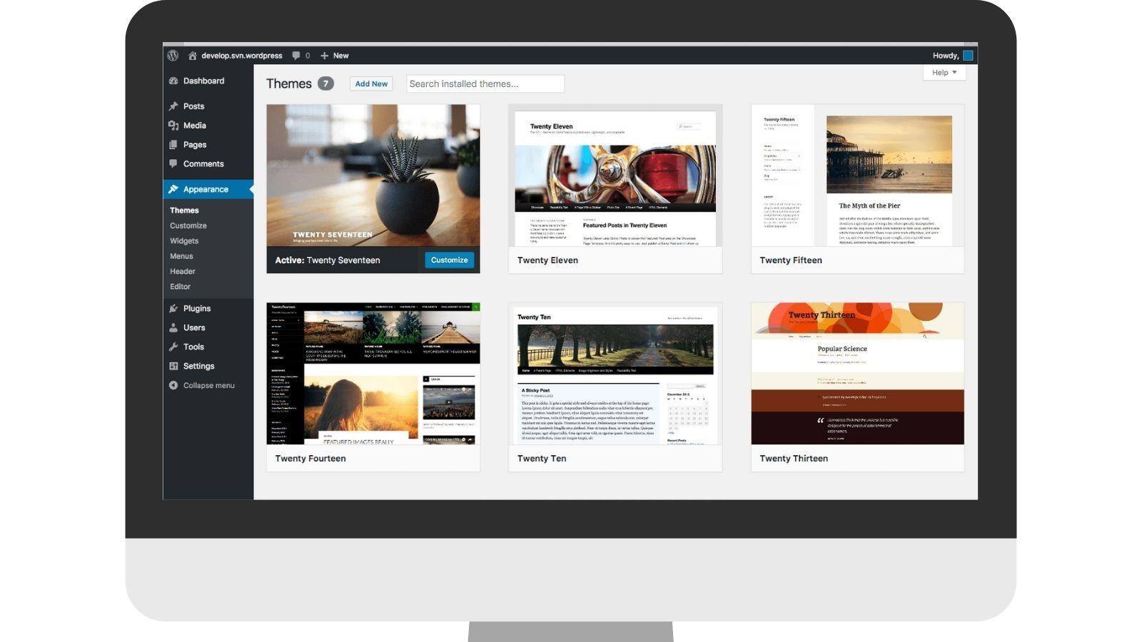 Ferramentas de Construção de Sites e/ou Blogs: WordPress