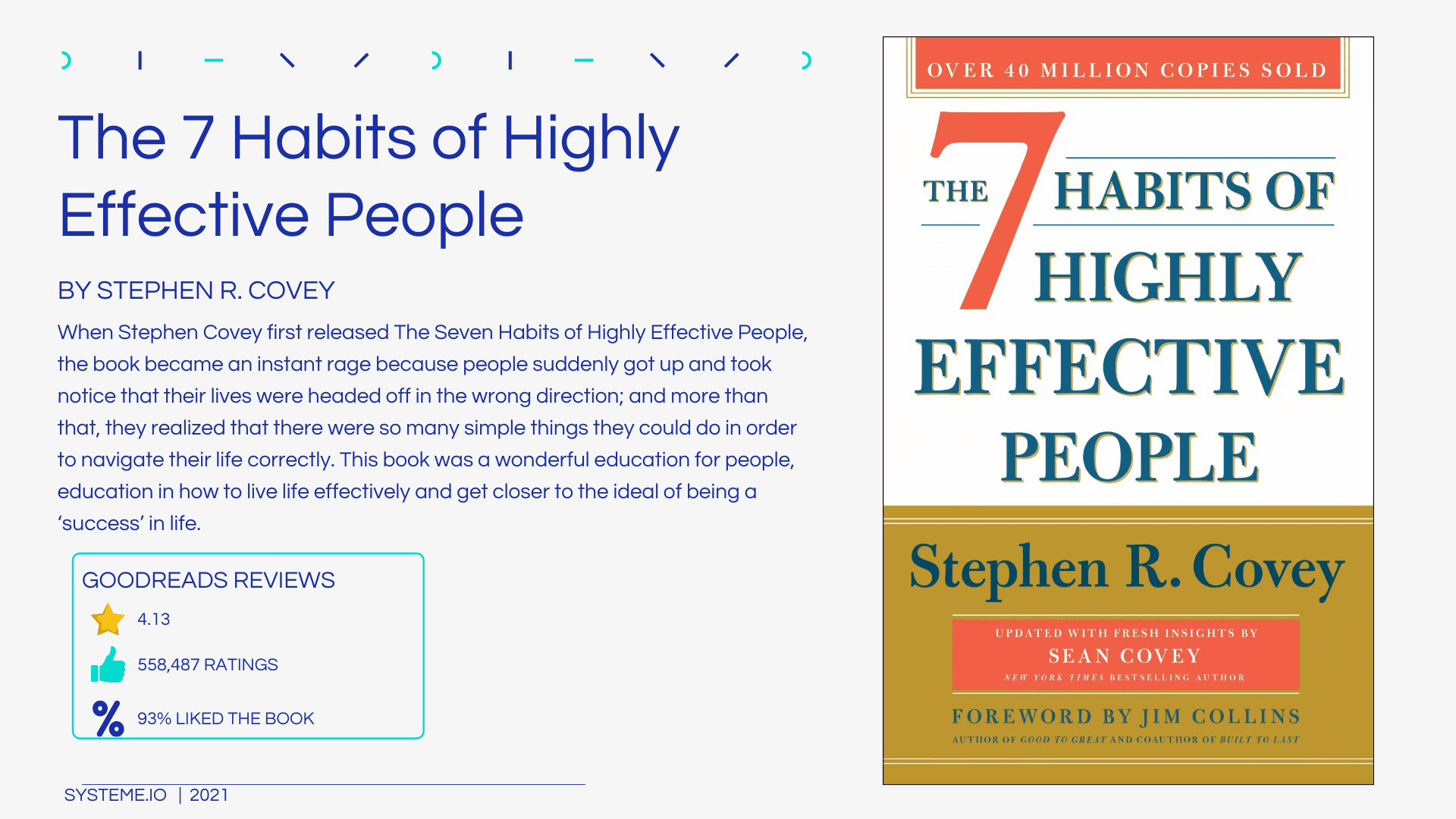 What is a Plug-in3. 7 Habits of Highly Effective People by Stephen R. Covey