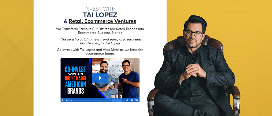 Invest with Tai Lopez