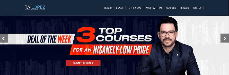 Tai Lopez courses