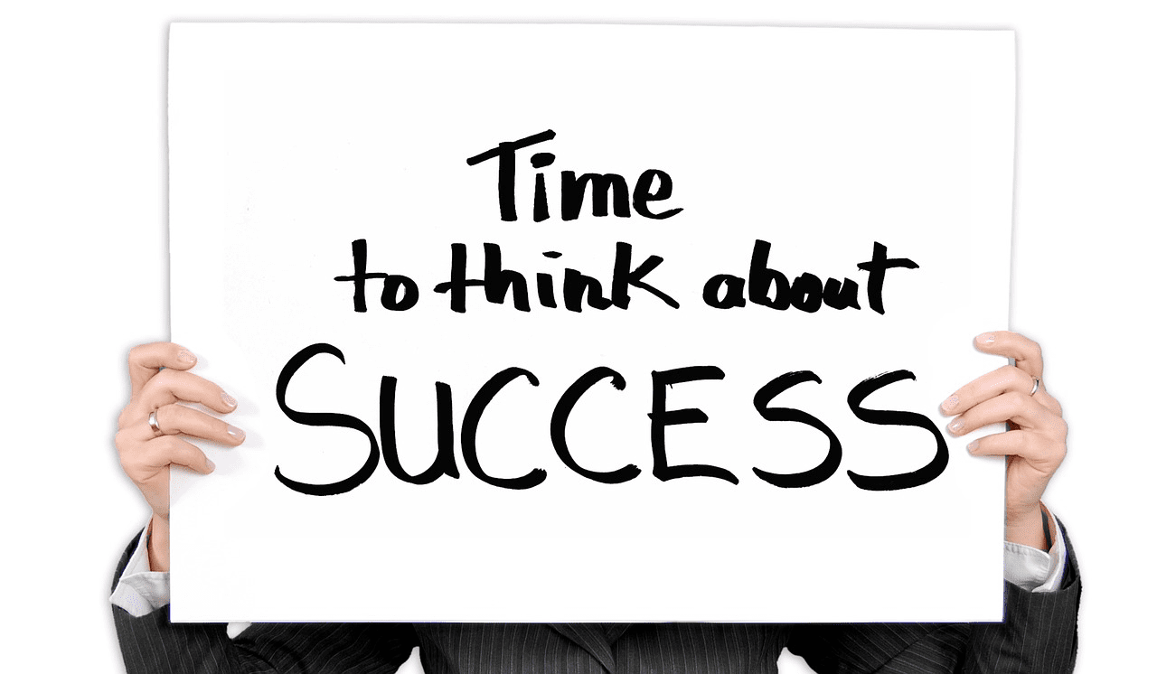 Time to think about success