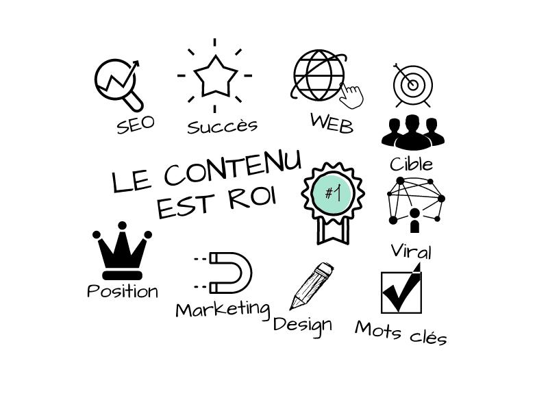 La création de contenu est la clé de votre référencement