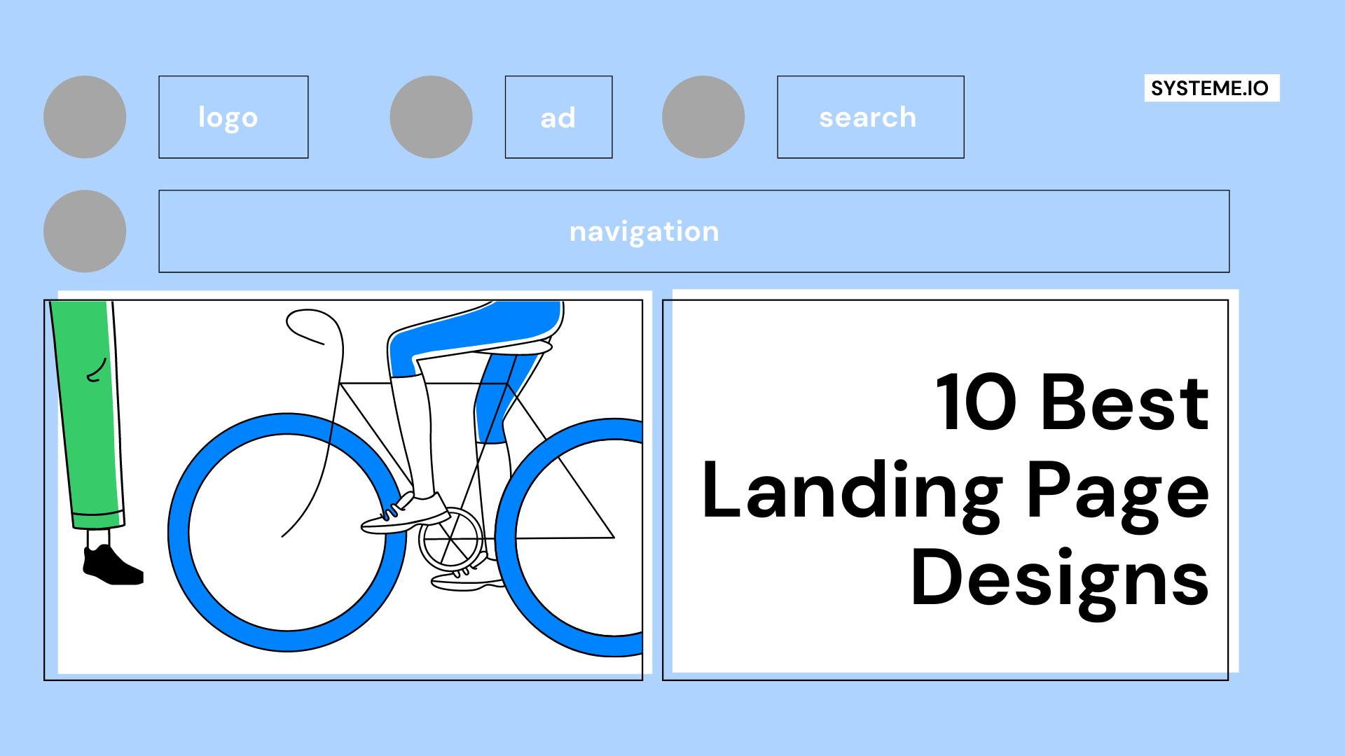 Top 10 Landing Page Designs