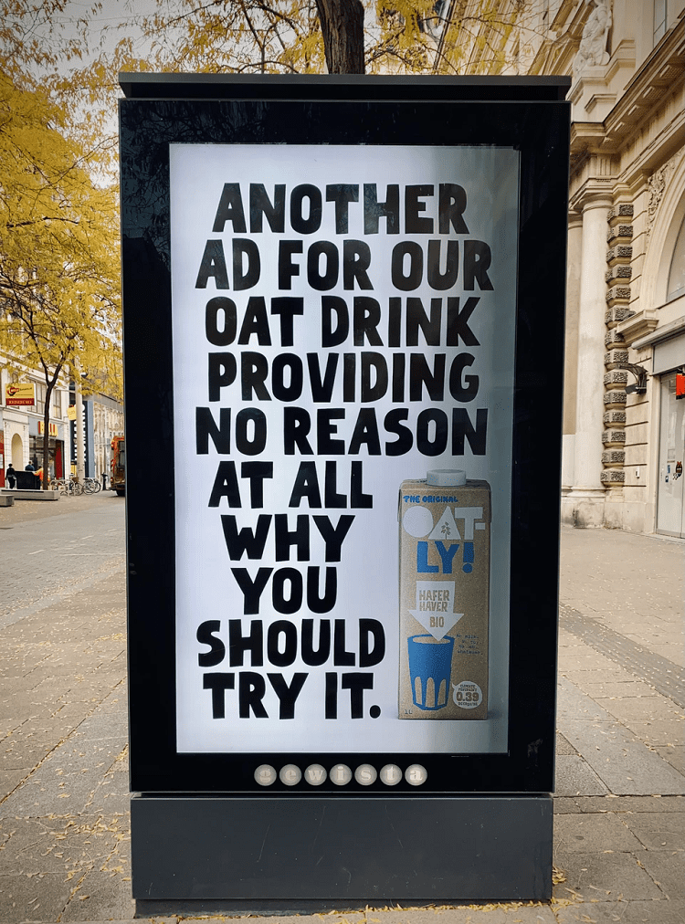Advertisement copywriting