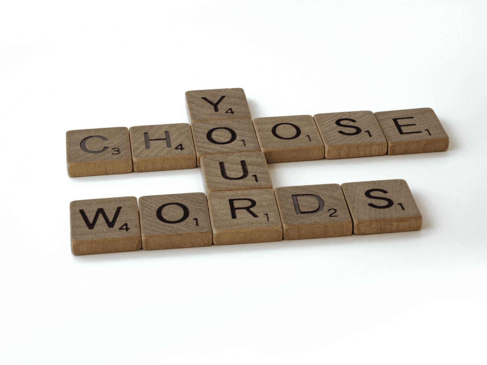 "Know your copywriting ""buzzwords"""