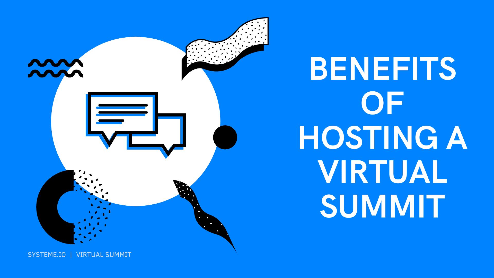 benefits of using a virtual summit