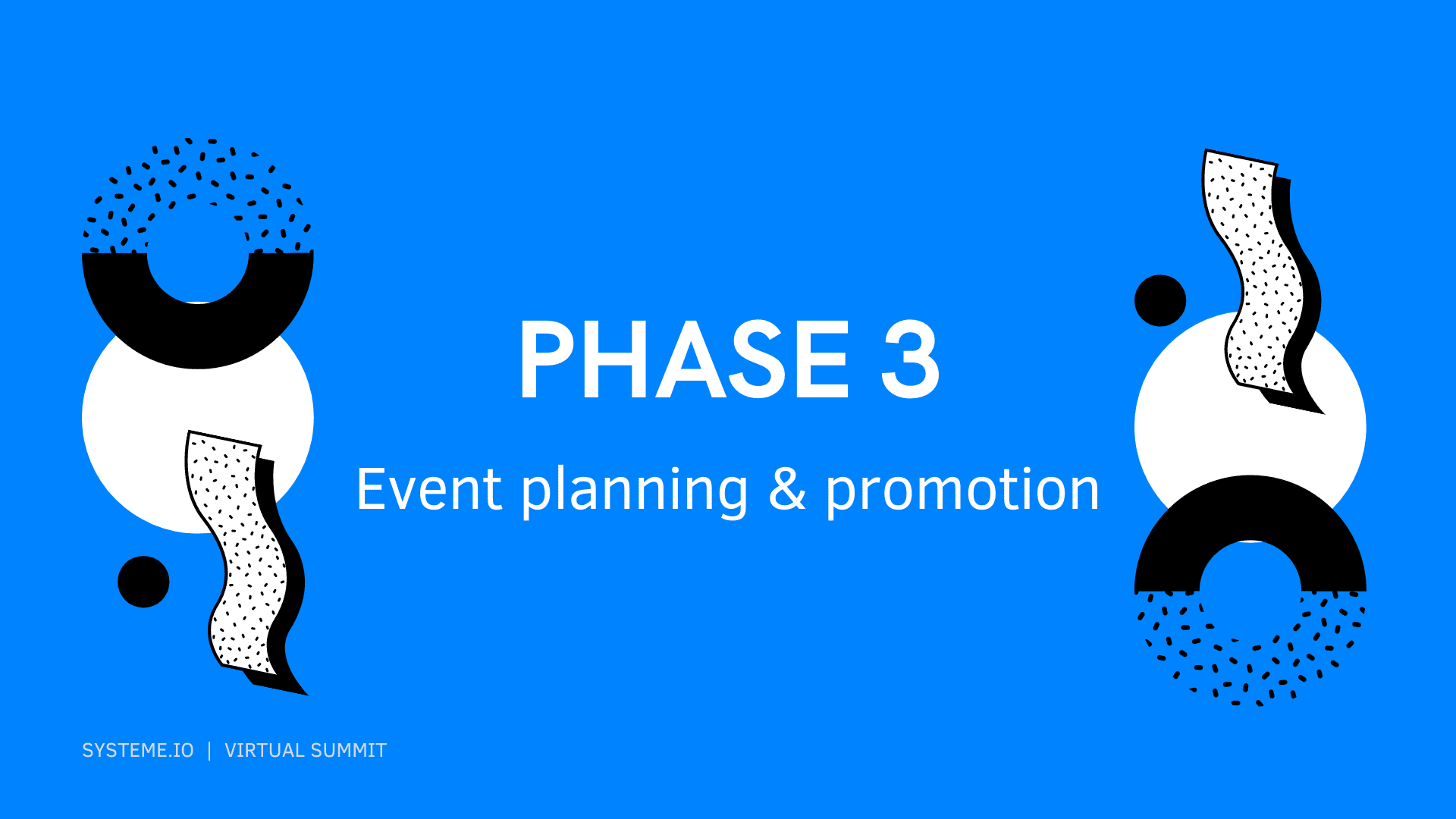 Phase 3 — Event Planning and Promotion