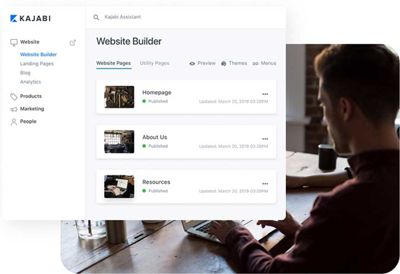 Building your website and pages