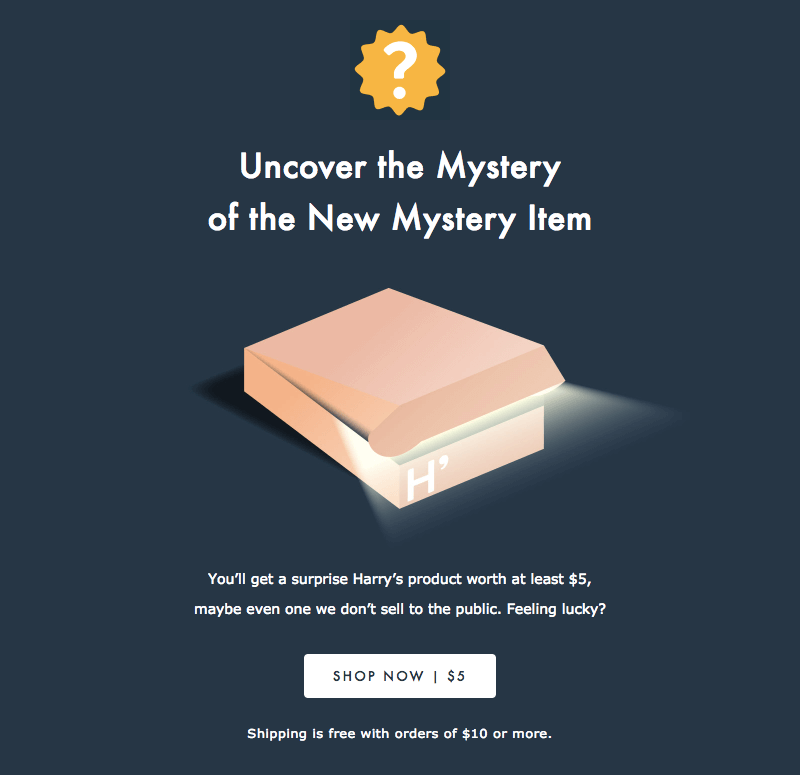 Using Mystery