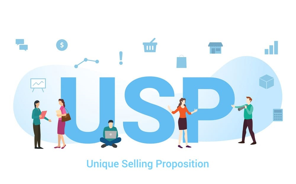 Identify your Unique Selling Point (USP)