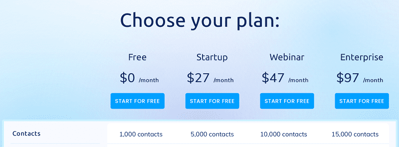 systeme.io payment plans