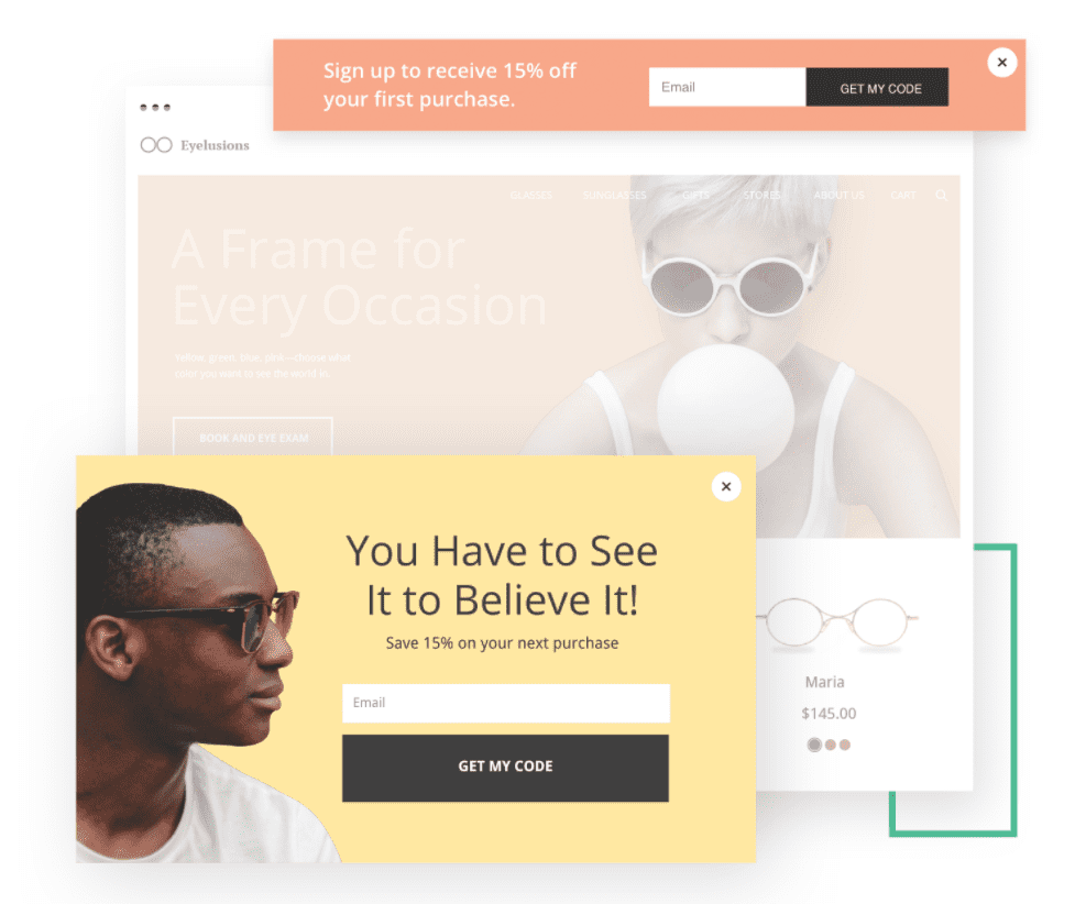 Popups and Sticky Bars