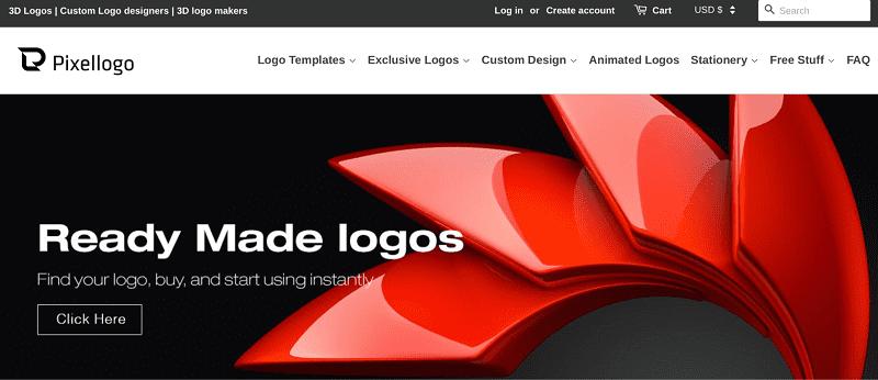 PixelLogo Home page