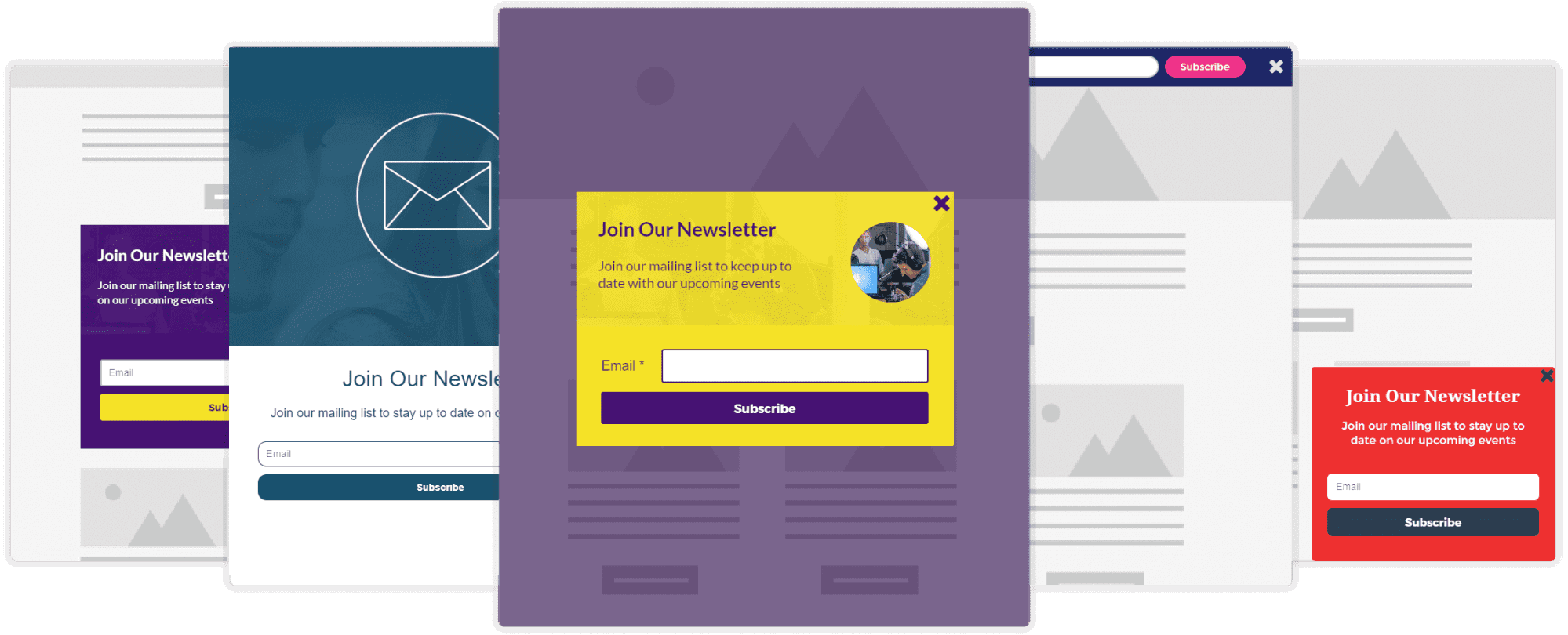 Subscription Forms & Ecommerce Automation