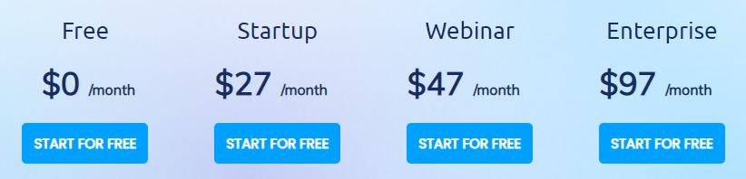 Systeme.io price plans: