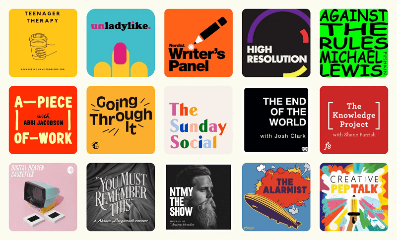 A Beautiful Podcast Cover