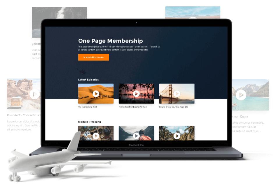 Build Membership Sites
