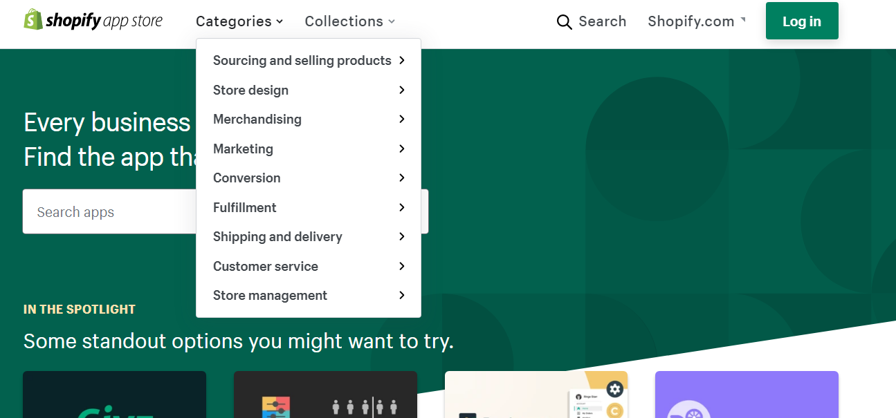 Shopify's App Store