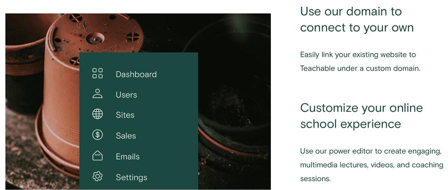 Teachable site design