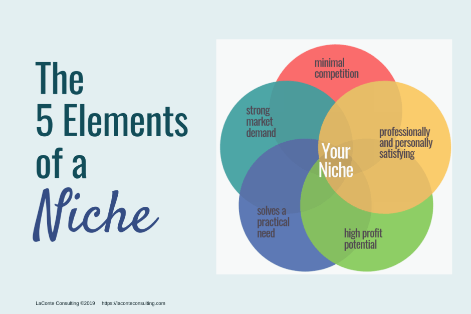 the 5 elements your ideal niche