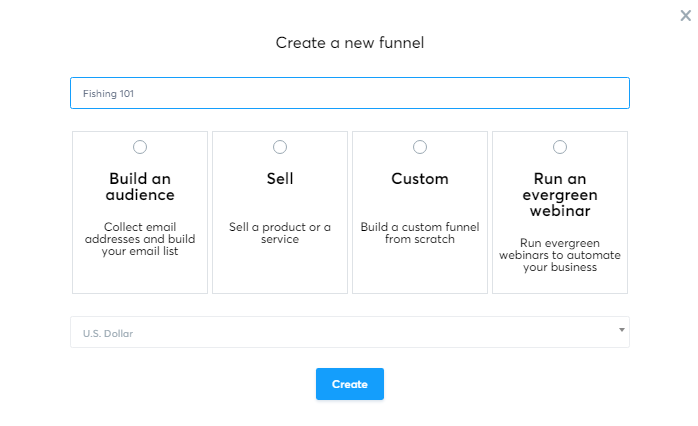 Creating a sales page on systeme.io